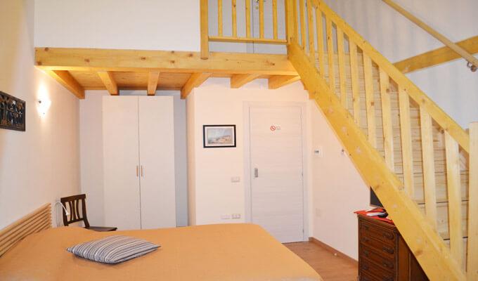 Camera Caravaggio vista secondo livello